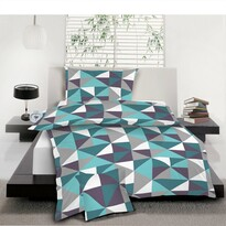 Bavlnené obliečky Trion tyrkys, 140 x 200 cm, 70 x 90 cm, 40 x 40 cm