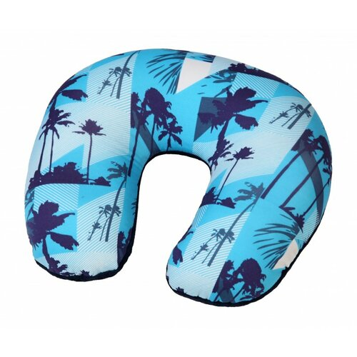 Modom Cestovný vankúš podkova Palmy, modrá