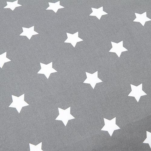 4Home Obliečka na Relaxačný vankúš Náhradný manžel Stars sivá, 55 x 180 cm