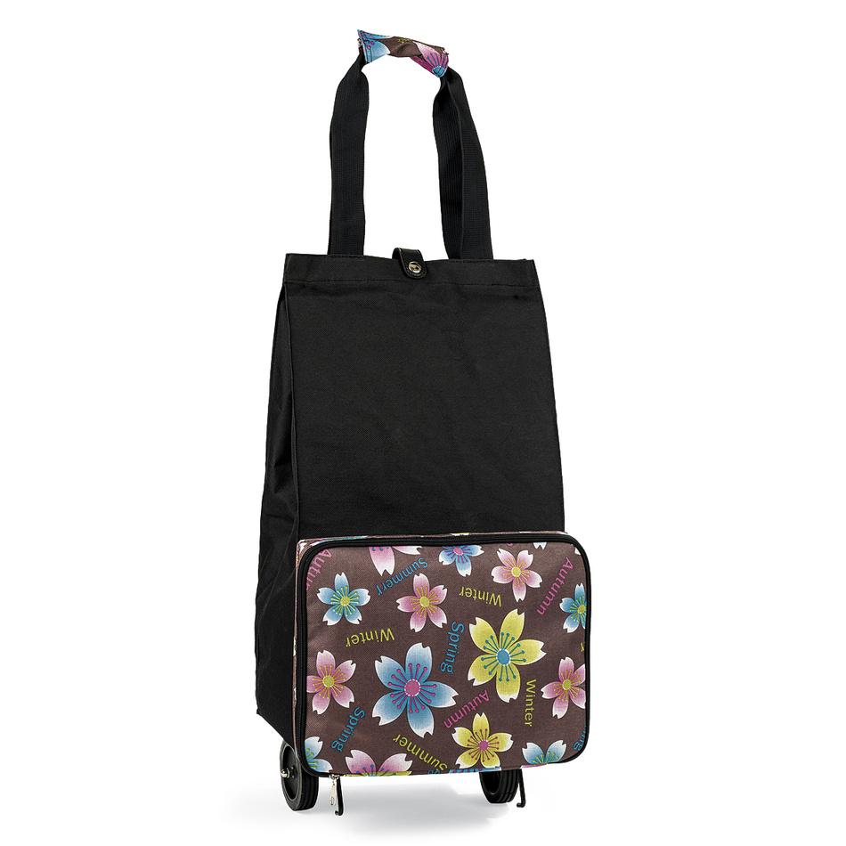 4Home nákupná taška Rhonda, hnedá