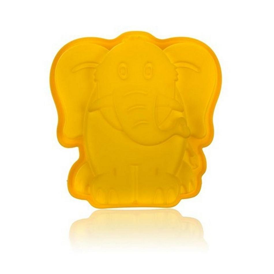 BANQUET CULINARIA Yellow Forma silikonová 19 x 19,6 x 4,4 cm, slon 3122020Y