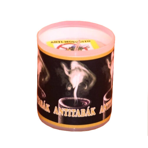 Repelentná sviečka s vôňou antitabák