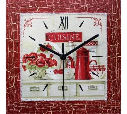 Nástěnné hodiny Kuchyňské zátiší