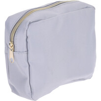 Playa kozmetikai táska, szürke, 17,5 x 13 x 5 cm