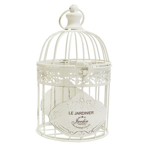 Stardeco Dekorativní klec Le Jardinier, 33 cm, 33 cm