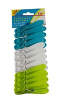 Kolíčky na prádlo plastové Grande, 12 ks
