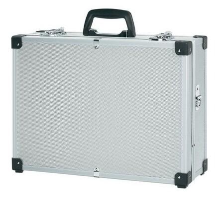 Hliníkový kufr na nářadí, HKU 785, Conrad, stříbrná