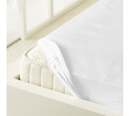 Kleine Wolke prostěradlo mako jersey bílá, 180 x 200 cm