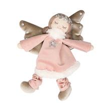 Altom Vánoční dekorace Sametový anděl, 16 cm