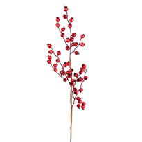 Vetvička s červenými šípkami, 60 cm