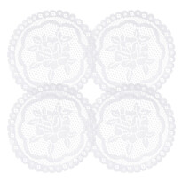 Podkładka dekoracyjna Rozalia, śred. 20 cm, zestaw 4 szt.