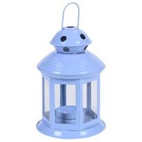 Lucerna na čajovou svíčku Pastels, světle modrá