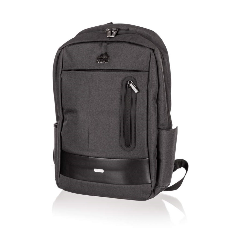 Rucsac laptop Outdoor Gear Unity, negru,30 x 45 x 18 cm imagine 2021 e4home.ro