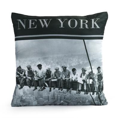 Polštářek World NY People, 40 x 40 cm