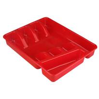 Altom Wkład do szuflady/organizer kuchenny na akcesoria, odcienie czerwieni, 34 x 26 cm