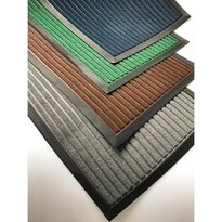 Gumová rohožka Stripes, 40 x 60 cm