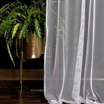DecoKing Záclona Elie biela, 140 x 250 cm