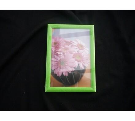 Fotorámeček 9x13 cm, zelená