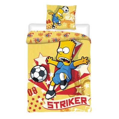 Dětské bavlněné povlečení Bart, 140 x 200 cm, 70 x 90 cm