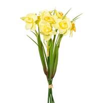 Buchet artificial Narcise galbene 30 cm