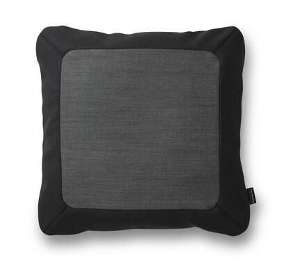 Polštářek Frame 50 x 50 cm, tmavě šedý