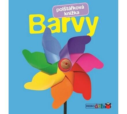 Polštářková knížka Barvy, vícebarevná