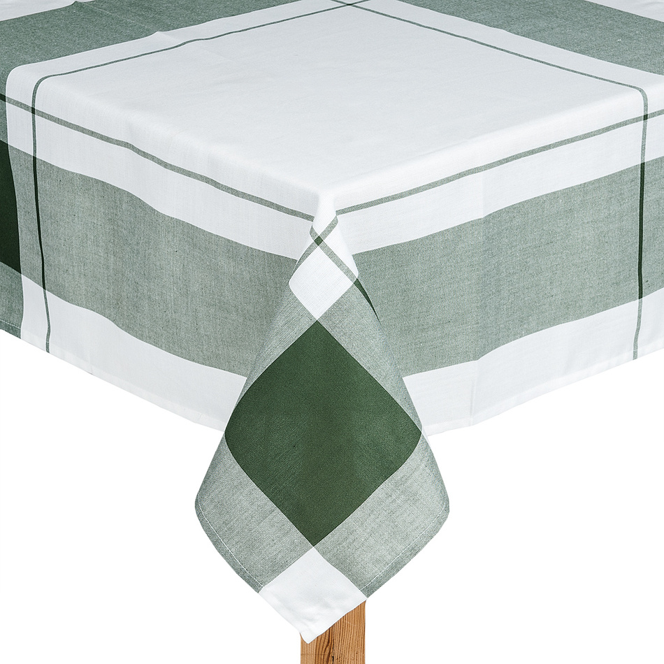 Forbyt Obrus kocka zelená, 85 x 85 cm, 85 x 85 cm
