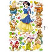Samolepicí dekorace Sněhurka a sedm trpaslíků