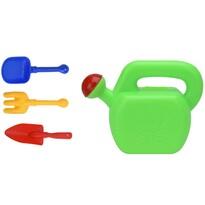 Dziecięce narzędzia ogrodowe z konewką, 4 szt.