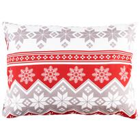 Față de pernă Crăciun 4Home Red Nordic, 50 x 70 cm