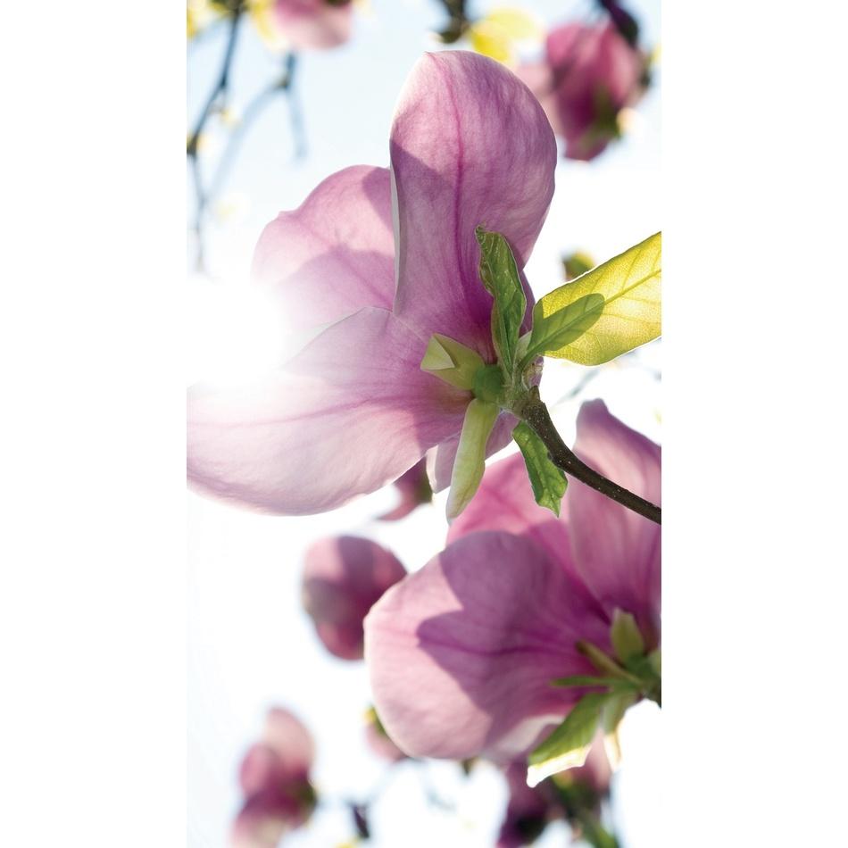 AG ART Závěs Flowers Purple, 140 x 245 cm