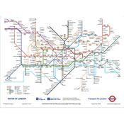 Fototapeta trasa Londýna 158 x 232 cm