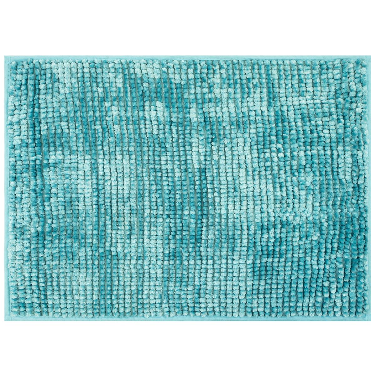 AmeliaHome Koupelnová předložka Bati modrá, 50 x 70 cm