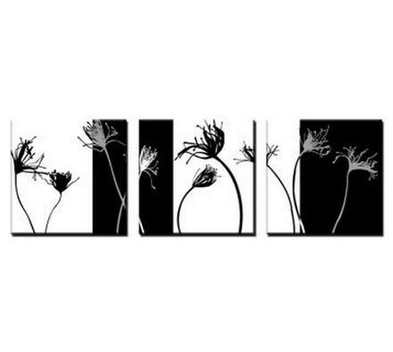 Třídílný obraz Blooms