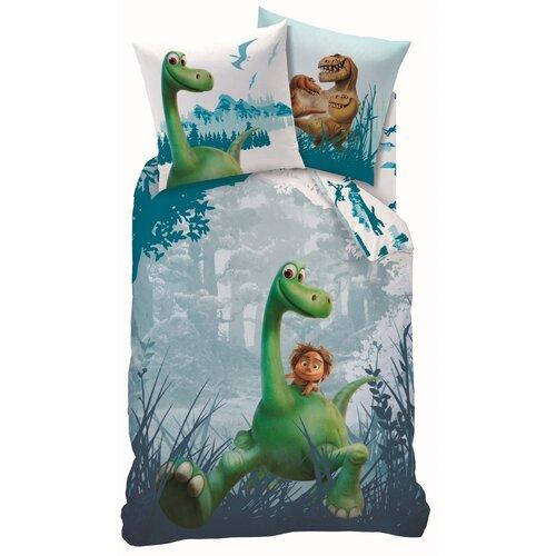 Lenjerie de pat pentru copii Good Din prehistoric, 140 x 200 cm, 70 x 90 cm