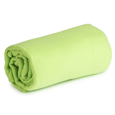 Koc polarowy Sweety Calme zielony, 130 x 170 cm