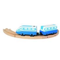 Tren de persoane Bino, cu baterii, 24,5 cm
