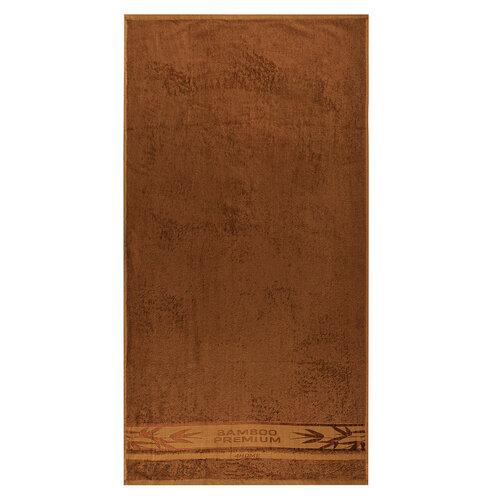 Set prosoape 4Home Bamboo Premium maro, 70 x 140 cm, 50 x 100 cm