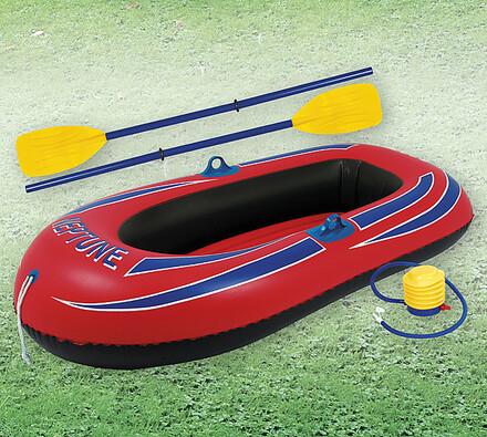 Nafukovací člun s vesly a pumpou