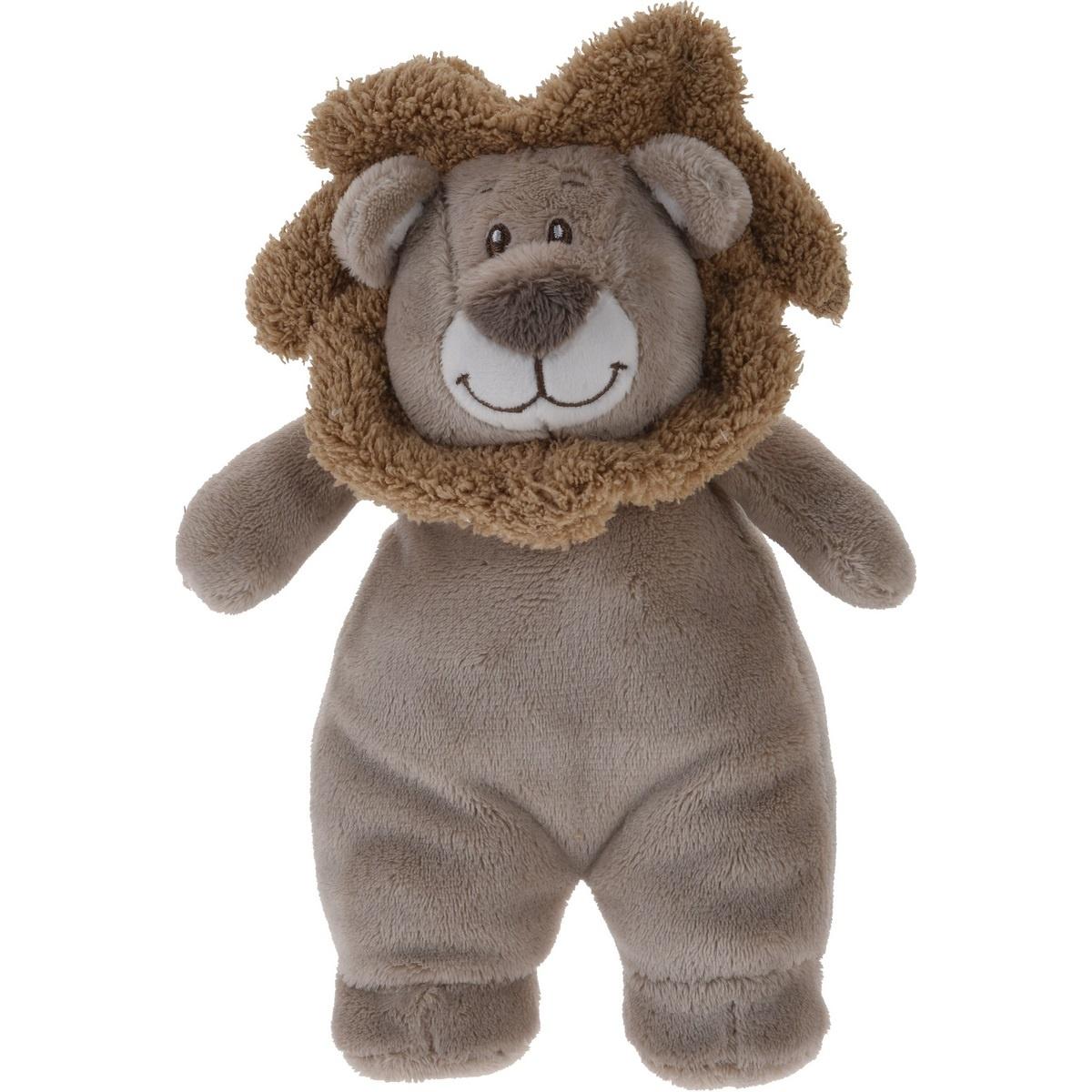 Koopman Plyšový lev hnědá,  20 x 13 cm