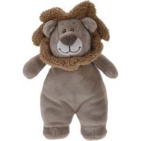 Plüss oroszlán, barna, 20 x 13 cm
