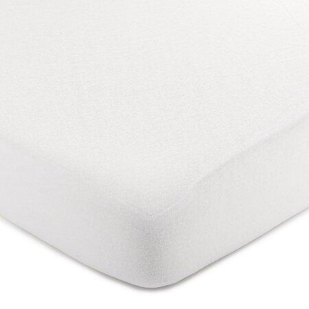 4Home jersey prestieradlo biela, 220 x 200 cm