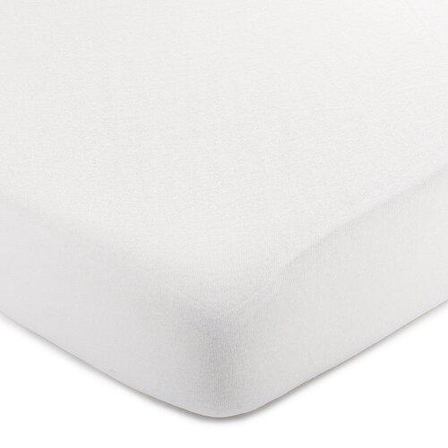 Cearșaf de pat 4Home jersey, alb, 220 x 200 cm