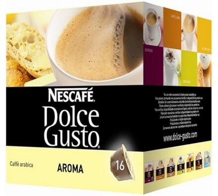 Kapsle Dolce Gusto, Aroma, 16 ks, Nescafé