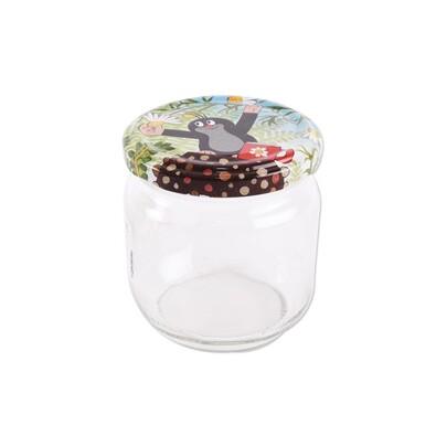 Orion Sada zaváracích pohárov s viečkom Krtko, 212 ml, 10 ks