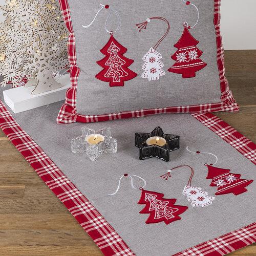 Vianočný svietnik Chandelier, tmavosivá