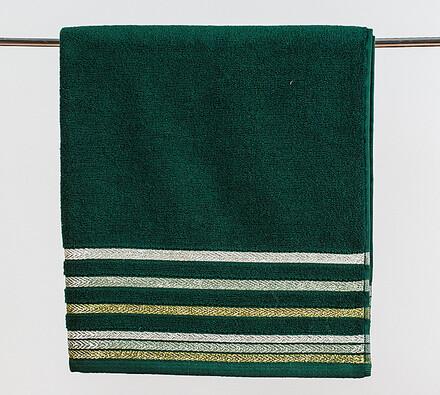 Osuška Bianna zelená, 70 x 140 cm