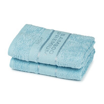 4Home Bamboo Premium ręczniki jasnoniebieski, 50 x 100 cm, 2 szt.