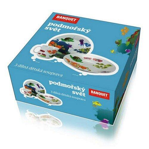 Banquet Podmořský svět dětská jídelní sada