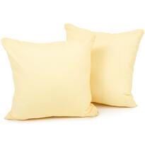4Home párnahuzat, sárga, 2x 40 x 40 cm